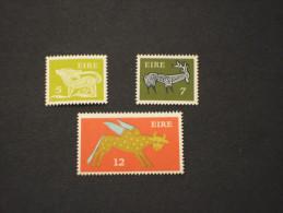 IRLANDA - 1974 PITTORICA 3 Valori, In Quartine (blocks Of Four) - NUOVI(++) - 1949-... Repubblica D'Irlanda