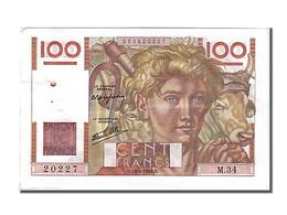100 Francs Jeune Paysan - 1871-1952 Antichi Franchi Circolanti Nel XX Secolo