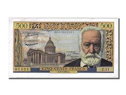 500 Francs Victor Hugo - 1871-1952 Anciens Francs Circulés Au XXème