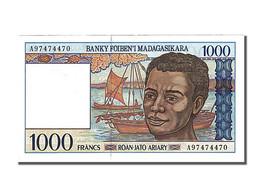 Madagascar, 1000 Francs, Type 1994-1995 - Madagascar