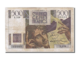 500 Francs Chateaubriand - 1871-1952 Circulated During XXth
