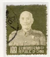 REPUBLIK CHINA - Mi.Nr.TW - 174 A - 1953 - Refb2 - 1945-... Republic Of China