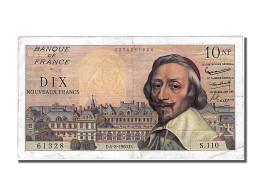 10 Nouveaux Francs Richelieu Type 1959 - 1959-1966 Nouveaux Francs
