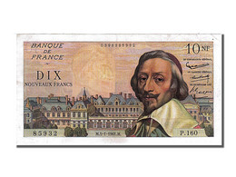 10 Nouveaux Francs Richelieu Type 1959 - 1959-1966 ''Nouveaux Francs''