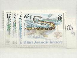 1991  MNH British Antactic Territory, Postfris** - British Antarctic Territory  (BAT)