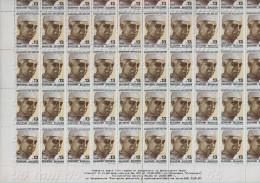 Bulgaria / Bulgarie 1989 Jawaharlal Nehru - Indian Statesman 1v.Sheet-MNH (5x10) - Celebrità