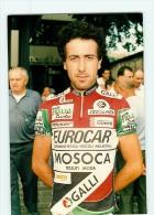 Ivan MONTEGAZZA . 2 Scans. Lire Descriptif. Cyclisme. MOSOCA EUROCAR GALLI - Ciclismo