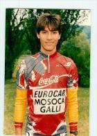 Leonardo SIERRA.  2 Scans. Lire Descriptif. Cyclisme. MOSOCA EUROCAR GALLI - Ciclismo