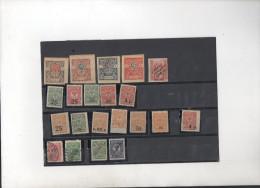 RUSSIE  UKRAINE ;.........lot De Timbres Anciens * Dont Certains à Identifier - Unused Stamps