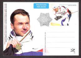 Skiing Estonia 2009 Postal Stationary Card #53 FDC Andrus Veerpalu  - Skiing World Champion - Ski