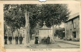 CPA 34 AIGUES VIVES LA PLACE - France