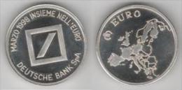 1 Euro Temporaire Precurseur De DEUTSCHE BANK SpA, Italy, 3-1998, RRRR, Nr. 29, Extremly Scarce!!! - Italien