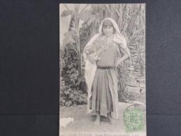TUNISIE - Femme Bédouine Avec Son Enfant  - 1907 - A Voir   P13655 - Tunisie
