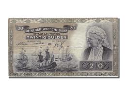 Pays Bas, 20 Gulden, Type Emma - [2] 1815-… : Kingdom Of The Netherlands