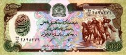 Afghanistan 1991 Billet 500 Afghanis Pick 60c Neuf 1er Choix UNC SH1370 - Afghanistan