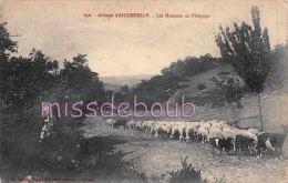 26 - AIGUEBELLE - Abbaye - Les Moutons Au Paturage - 1916 -  2 Scans - France