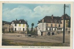 15 - RAULHAC - Les Hôtel Et Place - Hôtel Du Midi Prunet - Other Municipalities