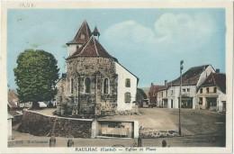15 - RAULHAC - Eglise Et Place - Other Municipalities