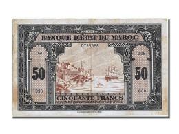 Maroc, 50 Francs, Type Américain 1ère Emission - Maroc