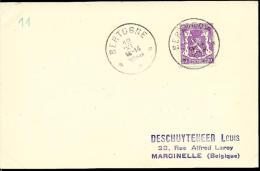 Bertogne     Type  15   Indice  B - Postmarks With Stars