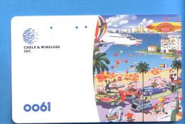 Japan Japon Telefonkarte Télécarte Phonecard -  Auto Car 0061 Ballon  Police Voiture - Voitures