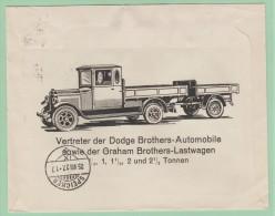 S6   Suisse L- Illustrée: Pneu Good-Year Et Camion Dodge Brothers Automobile St-Gallen 25.8.27