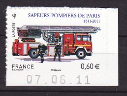 FRANCE - Adhésif - Y & T N° 602  - ** - 2011 - - France