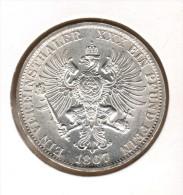 ALLEMAGNE, PREUSSEN, 1 THALER 1867 A - [ 1] …-1871 : German States
