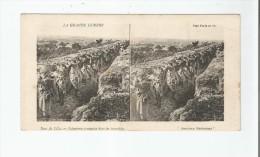 ENV DE LILLE INFANTERIE FRANCAISE DANS LES TRANCHEEES . LA GRANDE GUERRE (CARTE STEREOSCOPIQUE) - Weltkrieg 1914-18