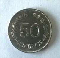 Monnaies - Equateur - 50 Centavos 1979 -