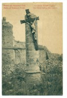 Nieuwpoort, Ruines De Nieuport Ville // Le Christ Devant L'Eglise - Nieuwpoort