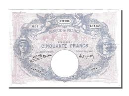 50 Francs Bleu Et Rose - 1871-1952 Antichi Franchi Circolanti Nel XX Secolo