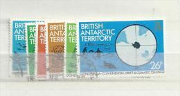 1981 USED  British Antactic Territory, Gestempeld - British Antarctic Territory  (BAT)