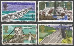Great Britain. 1968 British Bridges. Used Complete Set. SG 763-766 - 1952-.... (Elizabeth II)