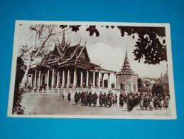 Cambodge - Phnom-penh - N° 12 - La Pagode D'argent - Année 1931 - EDIT : Fleury - Cambodia