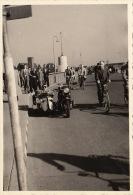 Photo Ancienne Moto Motocyclette Side Car - Automobiles