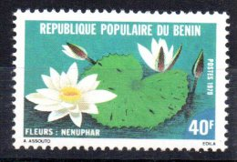 BENIN - NENUPHAR - FLEURS - FLOWERS - 1979 - - Bénin – Dahomey (1960-...)