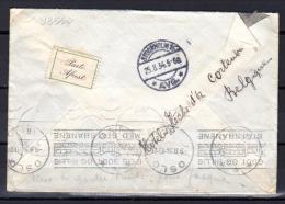 Exposition Universelle De Bruxelles 1935 Sur Lettre De Cortemberg Vers Riga, - 1935 – Brüssel (Belgien)
