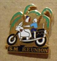 PIN´S PINS  S.M REUNION POLICE MOTARD - Police