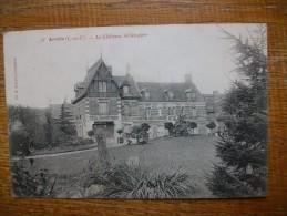 Arville , Le Château Vu Du Parc - France