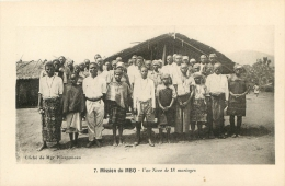CAMEROUN  MISSION DU MBO UNE NOCE DE 18 MARIAGES - Camerún