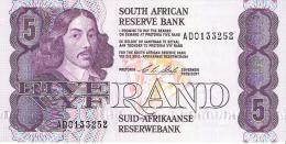 South Africa - Pick 119 - 5 Rand 1990-1994 - Unc - Sudafrica