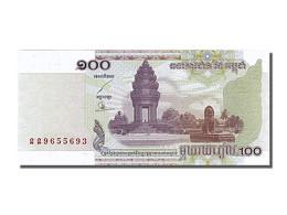 Cambodge, 100 Riels, Type 2001-2002 - Bankbiljetten