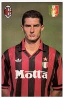 CALCIO - MILAN A.C. - MASSARO DANIELE - Vedi Retro - Calcio