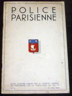 Police Parisienne - Paris - Revue N°14 De Mai 1938 - Policier Police Secours Anciens Combattants Albert Sarraut - Police