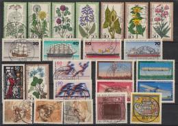 Bund Lot 1 Zuschlagmarken Gestempelt - Briefmarken
