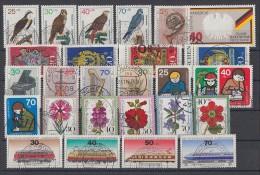 Bund Lot 4 Zuschlagmarken Gestempelt - Briefmarken