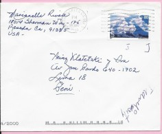 Stamp - Mount McKinley, 10.12.2004., United States, Letter - United States