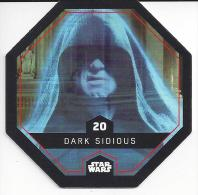 STAR WARS - Jeton Leclerc Cosmic Shells N° 20 - DARK SIDIOUS - Autres Collections