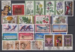 Bund Lot 6 Zuschlagmarken Gestempelt - Lots & Kiloware (max. 999 Stück)